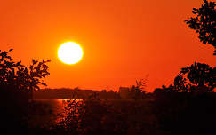 Tisza - tó....naplemente (1)