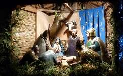 szobor betlehemi j�szol kar�csonyi dekor�ci� kar�csony