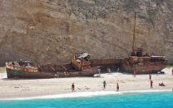 Hajóroncs, Navagio-öböl, Zakynthos-sziget, Görögország