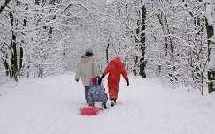 A tél öröme.