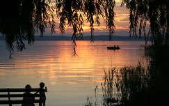 Balatoni naplemente, magyarország