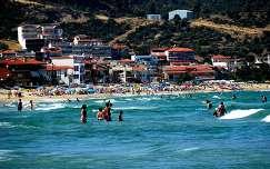 Sarti gyönyörű tengerpartja.
