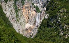 Boka vízesés, Szlovénia