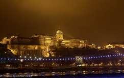Magyarország, Budapest, Budavári Palota ködben