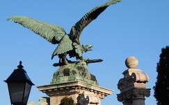 Turulmadár a Budai várban,Budapest