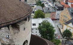 Kufsteini vár bástyája és panoráma,Ausztria