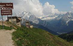 Dolomitok,Sella hágó,Olaszország