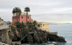 Földközi-tenger partja Genova, Olaszország
