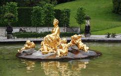 Linderhof kastélyparkNémetország