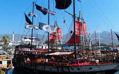 Alanya, kikötő