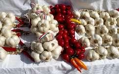 fokhagyma paprika zöldség