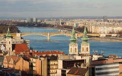 Budapest a Margit híddal