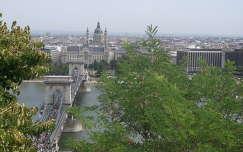 budapest, lánchíd, bazilika, vár