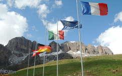 Olaszország,Dolomitok,Pordói hágó