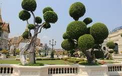 Királyi Palota, kertrészlet - Bangkok