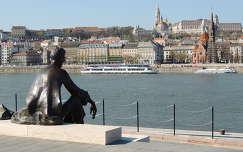 József Attila  a Kossuth térnél,Budapest