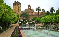 CÓRDOBA-SPAIN, Garden of the Alcázar
