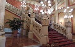 Budapest,Vigadó lépcsőháza felújítás után
