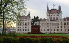 Országház - Rákóczi szobor
