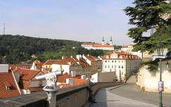 Sztrahovi kolostor látképe, Prága