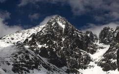 Szlovákia, Magas Tátra. Tatranska Lomnica 2634 m.