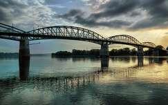 Mária Valéria híd Esztergom és Párkány között,2014.04.26. Dynamic Photo HDR 5,Fotó:Szolnoki Tibor