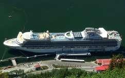 Alaszkai hajókikötő