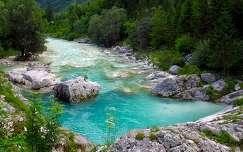Isonzó, Szlovénia