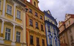 Prága - Színes házak