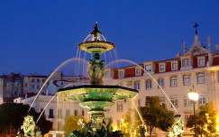 Fountain szökőkút, Lisszabon, Portugália
