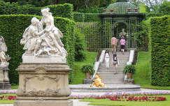 Linderhofi kastély parkja