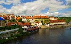 Prága, Károly-hídról fotózva