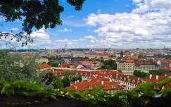 Kilátás a várból (Prága)