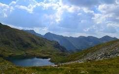 Románia , Fogarasi - havasok , Capra tó