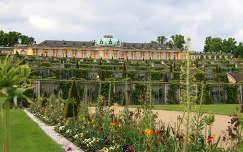 Németország - Potsdam, Sanssouci-kastély