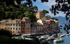 Portofino a fák közül