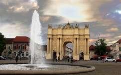 Németország - Potsdam, Brandenburgi-kapu