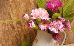 nyár nyári virág szegfű virágcsokor és dekoráció