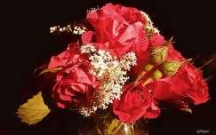 bimbó rózsa nyári virág virágcsokor és dekoráció