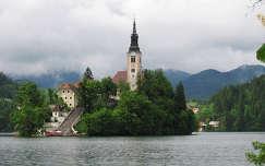 Szlovénia Bledi-tó