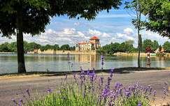 magyarország levendula várak és kastélyok tata nyár tatai vár tó