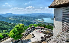a Visegrádi vár és a Dunakanyar