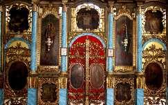 Szerbia - Versec, Uspenska-templom ikonosztáza