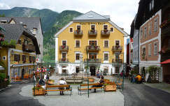 Fő tér, Hallstatt, Ausztria