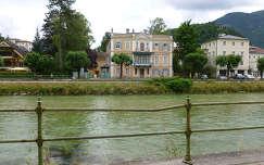 Lehár-villa a Traun partján, Bad Ischl, Ausztria