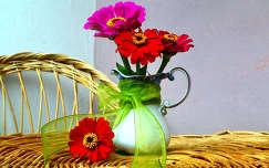 rézvirág nyár csendélet nyári virág