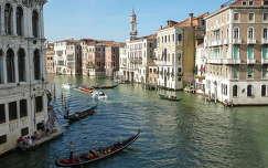 Látkép a Ponte di Rialto-ról, Velence