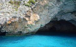 Kék barlangoknál, Paxos sziget