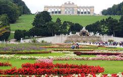 Bécs,Schönbrunni kastély parkja a Gloriettel,Ausztria