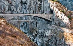 Teufelsbrücke, Andermatt, Svájc